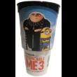 Gru 3 pohár Mel topperrel és popcorn tasakkal