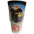 Gru 3 pohár Tim topperrel és popcorn tasakkal