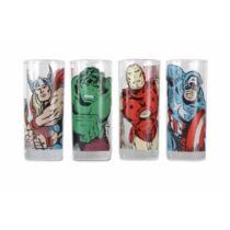 Marvel Bosszúállók üvegpohár szett - A karakterek