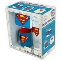 Superman ajándékcsomag (bögre, pohár és poháralátét)