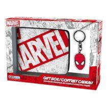 Marvel ajándékcsomag (pénztárca és kulcstartó)