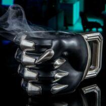 Fekete Párduc 3D bögre