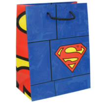 Superman díszzacskó, ajándéktáska - közepes méret