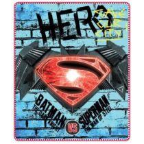 Batman Superman ellen polár takaró