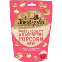 Fehér csoki és málna ízű popcorn falatkák