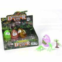 Dinoszaurusz meglepetés tojás fluoreszkáló csontváz figurával