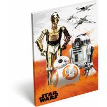 Star Wars papírfedeles notesz A/6 - Droidok