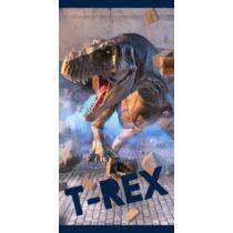 T-Rex dinoszaurusz törölköző, fürdőlepedő