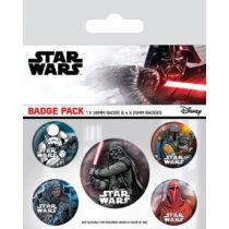 Star Wars kitűző szett - A sötét oldal