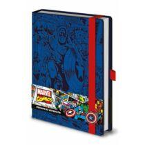 Amerika Kapitány prémium jegyzetfüzet A5