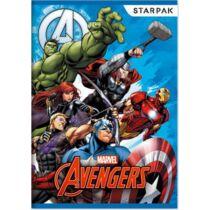 Marvel Bosszúállók vonalas füzet A/5 - két változatban