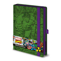 Marvel Hihetetlen Hulk prémium jegyzetfüzet A5