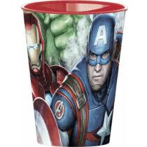Bosszúállók műanyag pohár