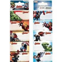 Marvel Bosszúállók füzetcímke - 10 darabos készlet