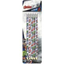 Bosszúállók HB grafit ceruza szett radírral - 5 darabos készlet