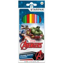 Marvel Bosszúállók színes ceruza szett