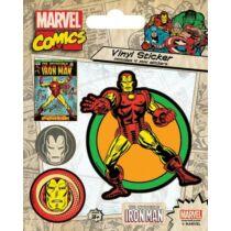 Vasember matrica szett - Vasember Marvel Retro