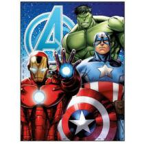 Marvel Bosszúállók plüss takaró