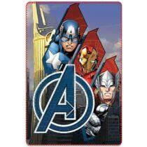 Bosszúállók polár takaró, ágytakaró - Amerika Kapitány, Vasember, Thor