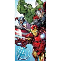 Bosszúállók törölköző, fürdőlepedő - Vasember, Amerika Kapitány, Thor és Hulk