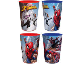 Pókember pohár szett - 4 darabos készlet