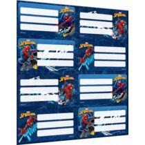 Pókember füzetcímke - 8 darabos készlet