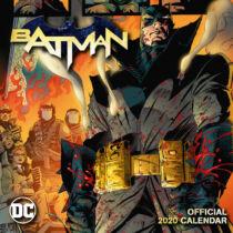 Batman Comics falinaptár 2020