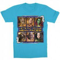 A galaxis őrzői gyerek rövid ujjú póló - Mean Faces