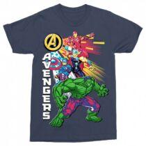 Bosszúállók - Avengers férfi rövid ujjú póló - Avengers Group