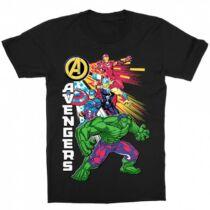 Bosszúállók - Avengers gyerek rövid ujjú póló - Avengers Group