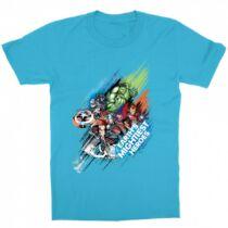 Marvel Bosszúállók gyerek rövid ujjú póló - Earth's Mightiest Heroes