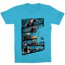 Marvel Bosszúállók - Avengers gyerek rövid ujjú póló - Infinity War Frame