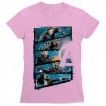 Marvel Bosszúállók - Avengers női rövid ujjú póló - Infinity War Frame
