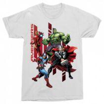 Bosszúállók - Avengers férfi rövid ujjú póló - Szuperhősök - Több színben