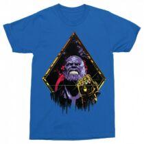 Marvel Thanos férfi rövid ujjú póló - Thanos Univerzum - Több színben