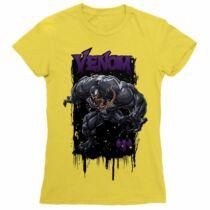 Venom női rövid ujjú póló - Több színben