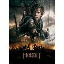 A hobbit: Az öt sereg csatája plakát