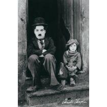 A kölyök - Charlie Chaplin plakát - Kapualj
