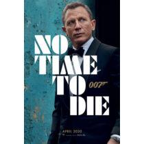 James Bond - 007 Nincs idő meghalni plakát