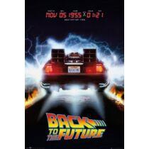 Vissza a jövőbe plakát - Delorean
