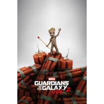 A galaxis őrzői vol. 2 plakát- Baby Groot