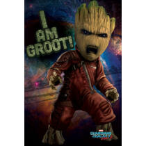 A galaxis őrzői vol. 2 plakát - Mérges Groot