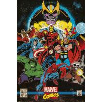 Marvel Comics plakát - Infinity Retro
