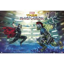 Thor: Ragnarök plakát - Hulk és Thor