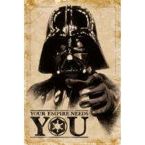 Star Wars: Darth Vader plakát - Your Empire Needs You