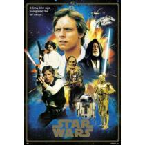 Star Wars plakát - 40 éves jubileumi kiadás