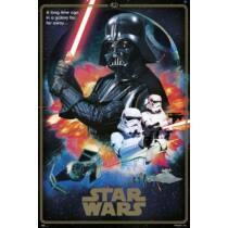 Star Wars plakát - 40 éves jubileumi kiadás - Sötét oldal