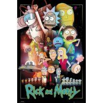 Rick és Morty plakát