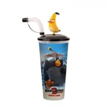 Angry Birds 2 pohár és Chuck mozgatható topper