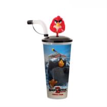 Angry Birds 2 pohár és Red mozgatható topper